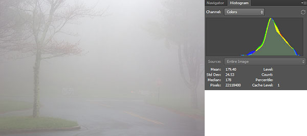 Nature Photography Simplified. Optimum Exposure For High Key Lighting. Misty mornging scene in Blue Ridge Parkway.
