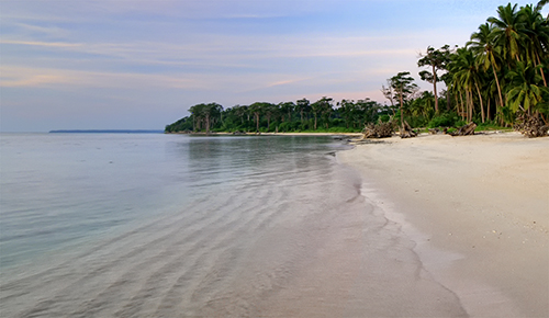 Nature Photography Simplified. Photography Composition Techniques. Leading Lines. Serene Beaches of Andaman Islands