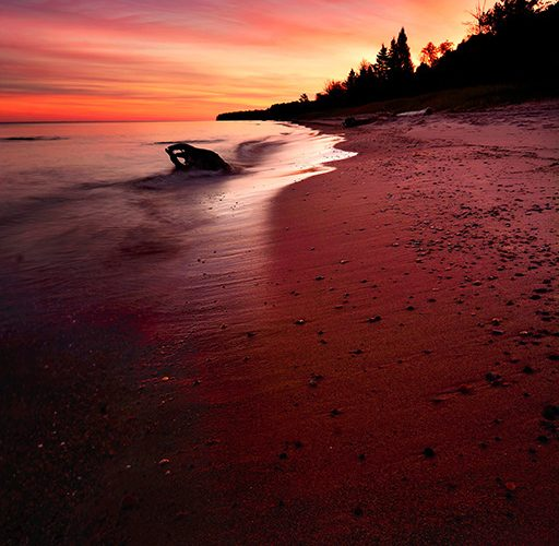 Day #3: Mesmerizing Sunrise At Lake Superior