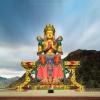 Maitreya Buddha Leh Ladakh photography exhibition by Prathap D K