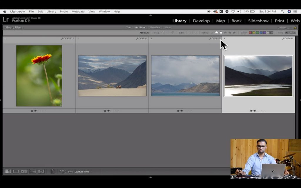 Adobe Lightroom Classic Creative Cloud (CC) Post-Processing Video Course for Nature, Wildlife, Bird, and Landscape Photographers by Prathap D K