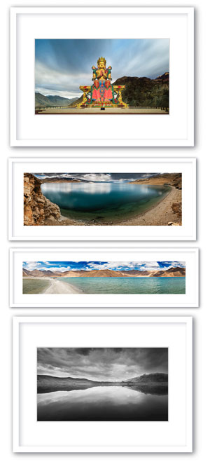 Leh Ladakh Exhibition prints and frames by Prathap D K.
